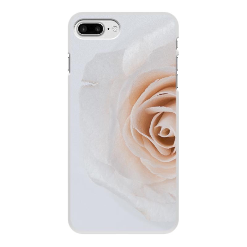 Чехол для iPhone 7 Plus, объёмная печать Printio Цветок роза чехол для iphone 7 plus объёмная печать printio золотая роза