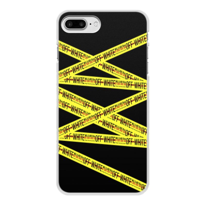 Чехол для iPhone 7 Plus, объёмная печать Printio Off-white printio чехол для iphone 7 plus объёмная печать