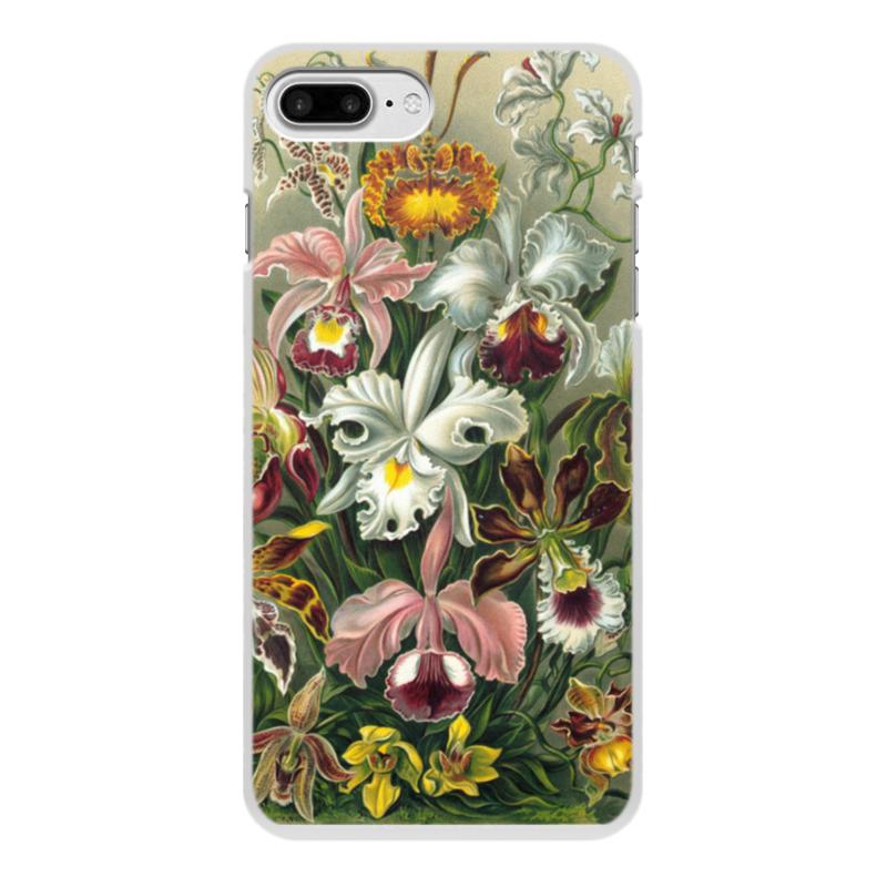 купить Чехол для iPhone 7 Plus, объёмная печать Printio Орхидеи (orchideae, ernst haeckel) недорого