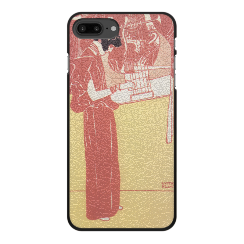 все цены на Чехол для iPhone 7 Plus, объёмная печать Printio Музыка (густав климт)