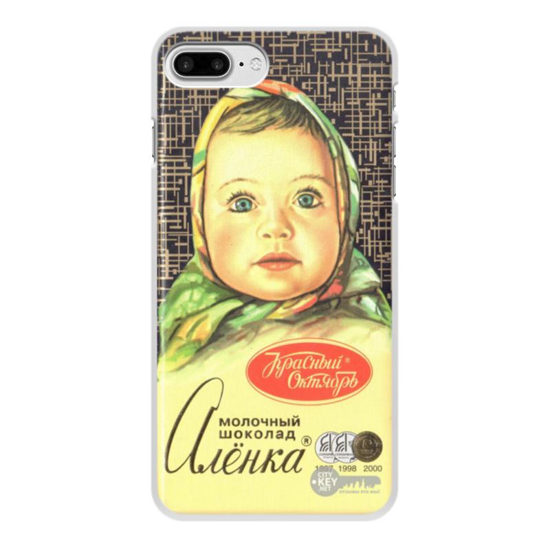 Чехол для iPhone 7 Plus, объёмная печать Printio Аленка статуэтка аленка