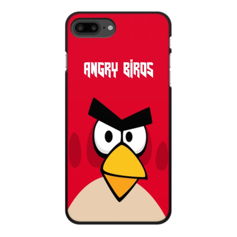 все цены на Чехол для iPhone 7 Plus, объёмная печать Printio Angry birds (terence) онлайн