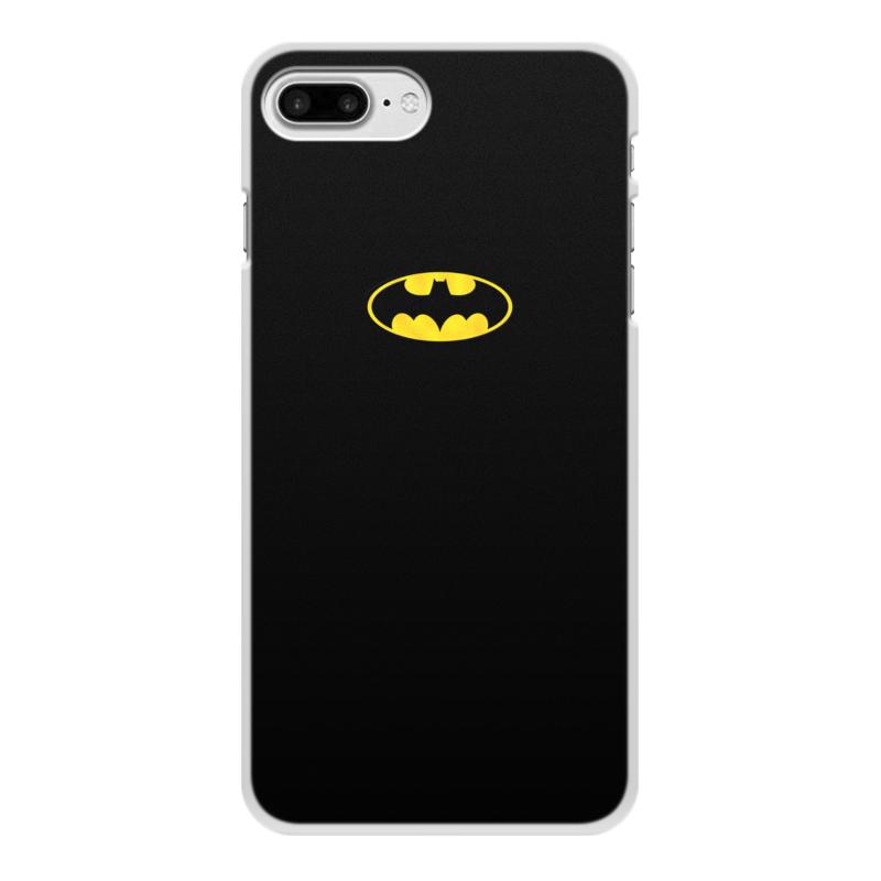 Фото - Чехол для iPhone 7 Plus, объёмная печать Printio Бэтмен / batman чехол для iphone 7 глянцевый printio супергерои комиксов
