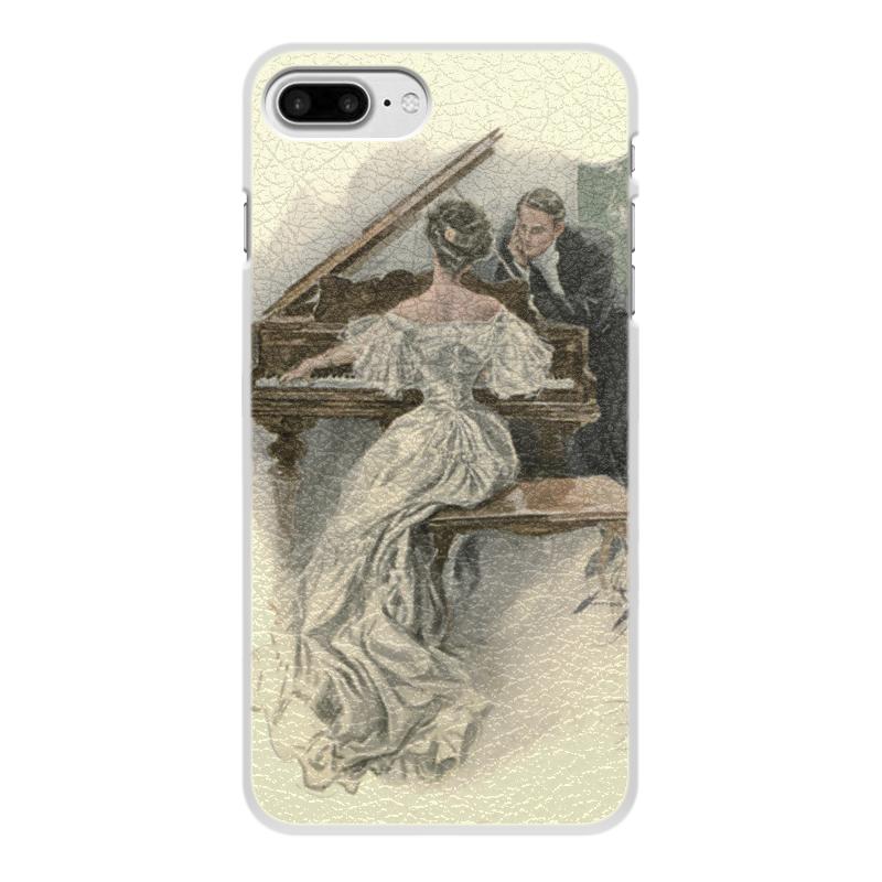 Чехол для iPhone 7 Plus, объёмная печать Printio День святого валентина цена и фото