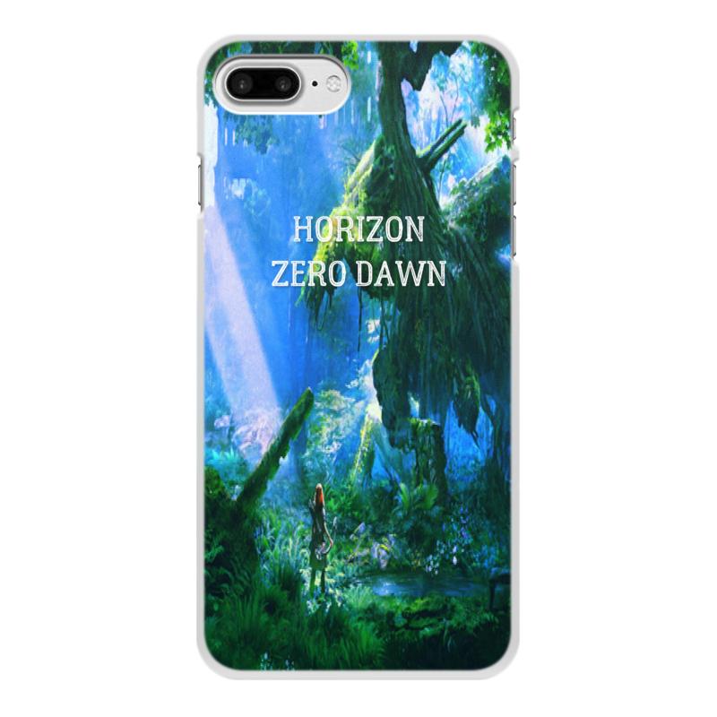 Чехол для iPhone 7 Plus, объёмная печать Printio Horizon zero dawn 0 7 мм ультра тонкий тонкий алюминиевый металлический бампер рамка чехол для iphone 5 5с