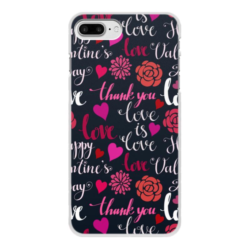 Чехол для iPhone 7 Plus, объёмная печать Printio День св. валентина чехол для iphone 5 printio чехол с мыслями о любви