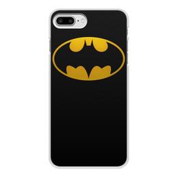 "Чехол для iPhone 7 Plus, объёмная печать ""бетмен"" - бэтмен, бетмен, бетман"