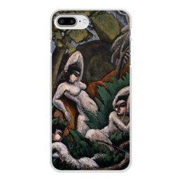 "Чехол для iPhone 7 Plus, объёмная печать ""Лето (картина Макса Вебера)"" - картина, живопись, кубизм, модерн, вебер"