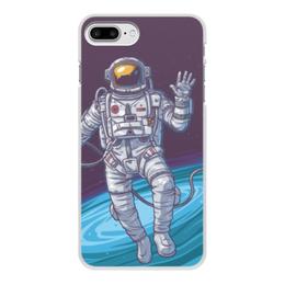 """Чехол для iPhone 7 Plus, объёмная печать """"Space"""" - космос, вселенная, наука, астрономия, the spaceway"""