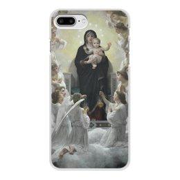 """Чехол для iPhone 7 Plus, объёмная печать """"La Vierge aux anges (картина Вильяма Бугро)"""" - картина, академизм, живопись, христианство, бугро"""