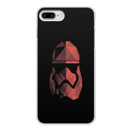"""Чехол для iPhone 7 Plus, объёмная печать """"Красный штурмофик"""" - star wars, штурмовик, стар варс, звёздные воины, старварс"""