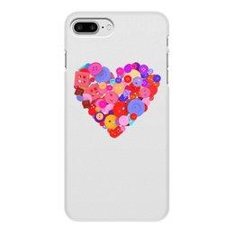 """Чехол для iPhone 7 Plus, объёмная печать """"День всех влюбленных"""" - любовь, день святого валентина, валентинка, i love you, день влюбленных"""