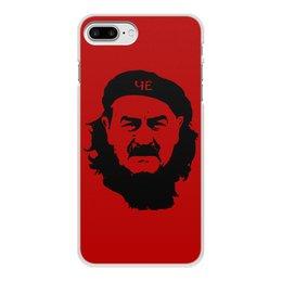 """Чехол для iPhone 7 Plus, объёмная печать """"Черчесов"""" - футбол, россия, russia, че гевара, черчесов"""