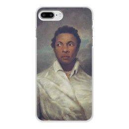 """Чехол для iPhone 7 Plus, объёмная печать """"Айра Олдридж в образе Отелло"""" - картина, живопись, шекспир, театр, норткот"""