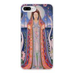 """Чехол для iPhone 7 Plus, объёмная печать """"Дева (картина Джозефа Стеллы)"""" - картина, живопись, футуризм, абстракционизм, стелла"""