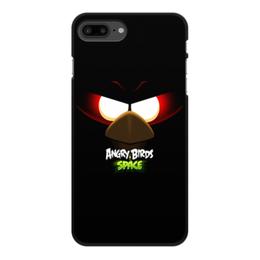 "Чехол для iPhone 7 Plus, объёмная печать ""Space (Angry Birds)"" - space, игра, мультфильм, птица, angry birds"