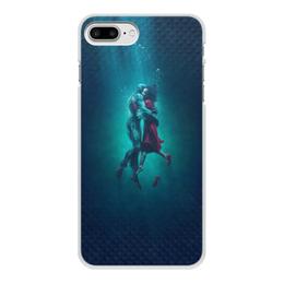 """Чехол для iPhone 7 Plus, объёмная печать """"Форма воды"""" - любовь, кино, фэнтези, оскар, форма воды"""