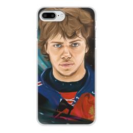 """Чехол для iPhone 7 Plus, объёмная печать """"Артемий Панарин"""" - хоккей, нхл, сборная россии по хоккею, артемий панарин"""