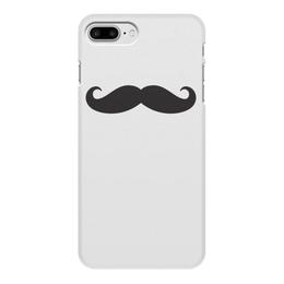 """Чехол для iPhone 7 Plus, объёмная печать """"усы.."""" - усы, борода"""