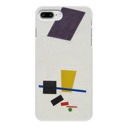"""Чехол для iPhone 7 Plus, объёмная печать """"Супрематизм. Живописный реализм футболиста"""" - футбол, картина, живопись, супрематизм, малевич"""