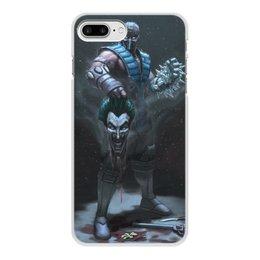 """Чехол для iPhone 7 Plus, объёмная печать """"Sub-zero"""" - джокер, mortal kombat, смертельная битва, мортал комбат, саб-зиро"""
