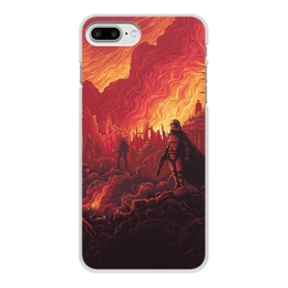 """Чехол для iPhone 7 Plus, объёмная печать """"Звездные войны"""" - звездные войны, фантастика, кино, дарт вейдер, star wars"""