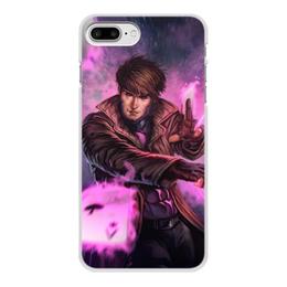 """Чехол для iPhone 7 Plus, объёмная печать """"Гамбит"""" - марвел, комиксы, gambit, comics"""