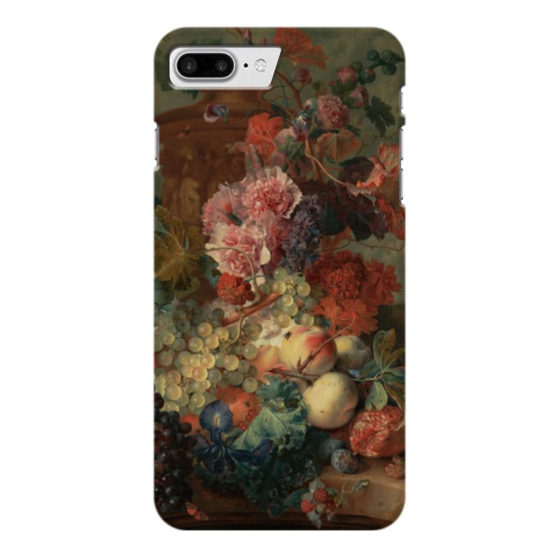 Чехол для iPhone 7 Plus глянцевый Printio Цветы (ян ван хёйсум) ян ван хейсум