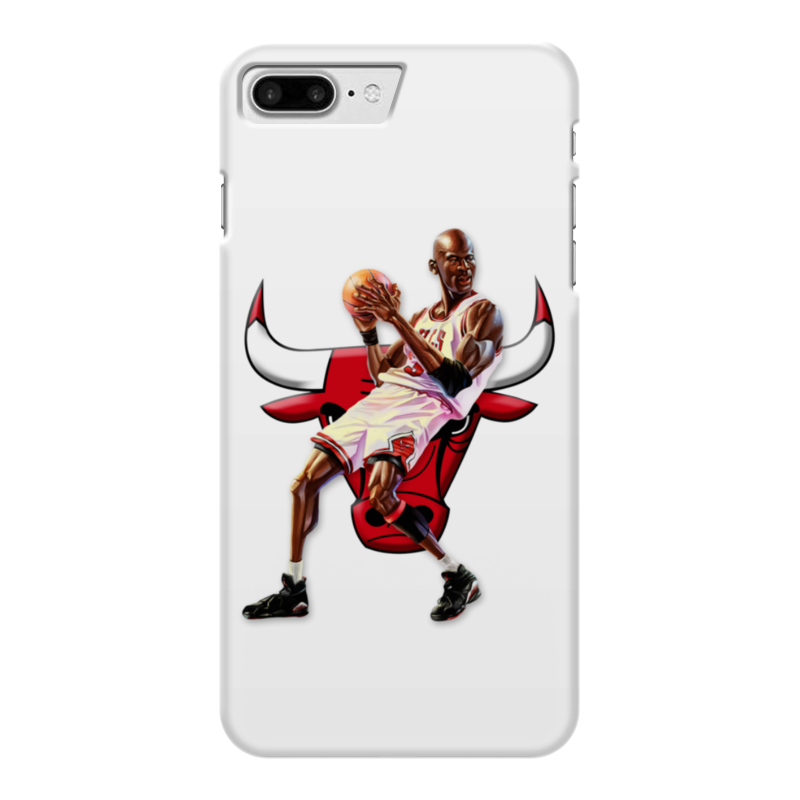 Чехол для iPhone 7 Plus глянцевый Printio Michael jordan cartooney чехол для iphone 7 глянцевый printio chicago bulls