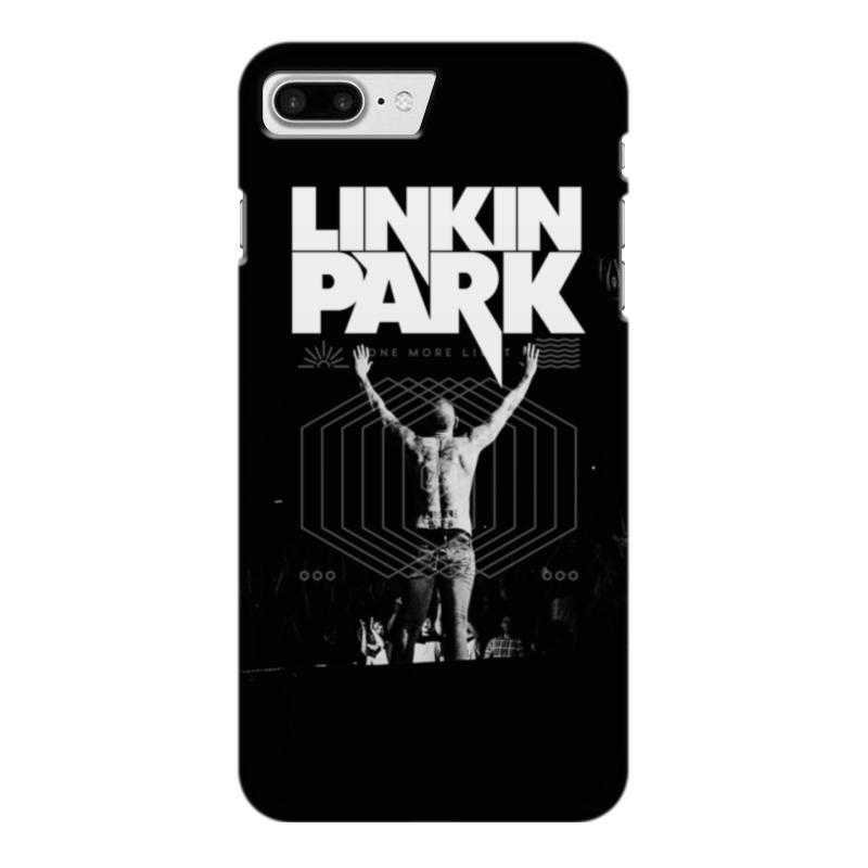 где купить Чехол для iPhone 7 Plus глянцевый Printio Linkin park по лучшей цене