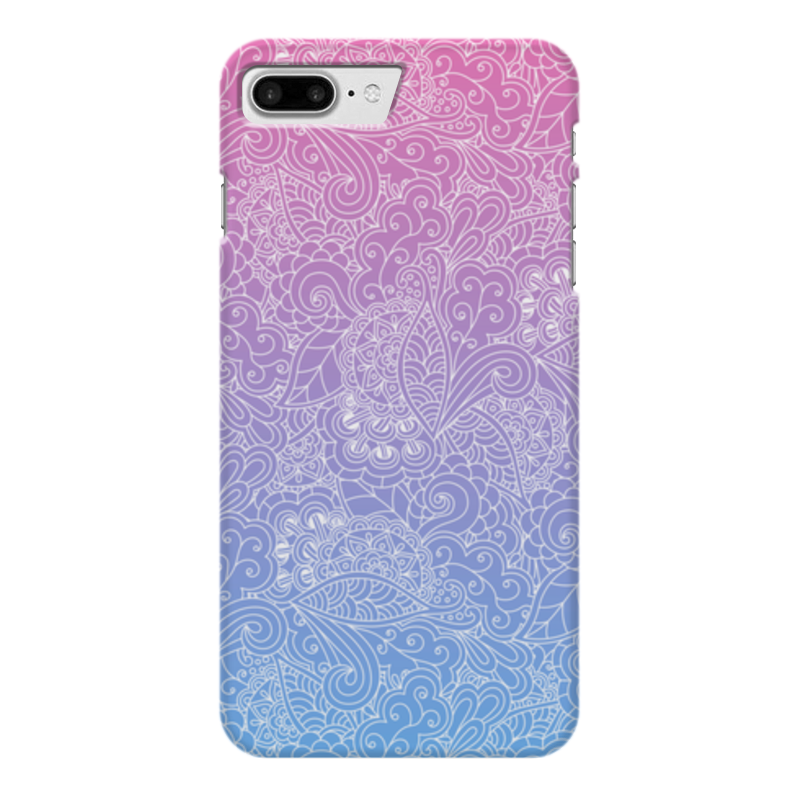где купить Чехол для iPhone 7 Plus глянцевый Printio Градиентный узор по лучшей цене