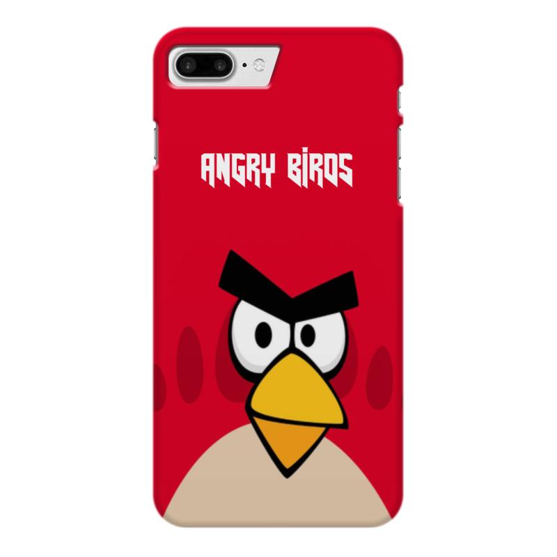 Чехол для iPhone 7 Plus глянцевый Printio Angry birds (terence) ледянки 1 toy angry birds 94 см т56333