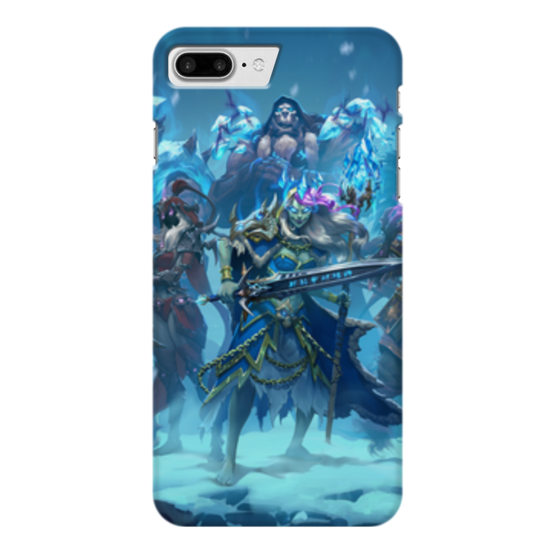 Чехол для iPhone 7 Plus глянцевый Printio Knights of the frozen throne чехол для iphone 6 глянцевый printio knights of the frozen throne