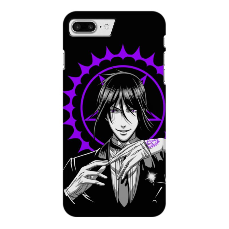 Чехол для iPhone 7 Plus глянцевый Printio Тёмный дворецкий чехол для iphone 7 глянцевый printio альтрон мстители