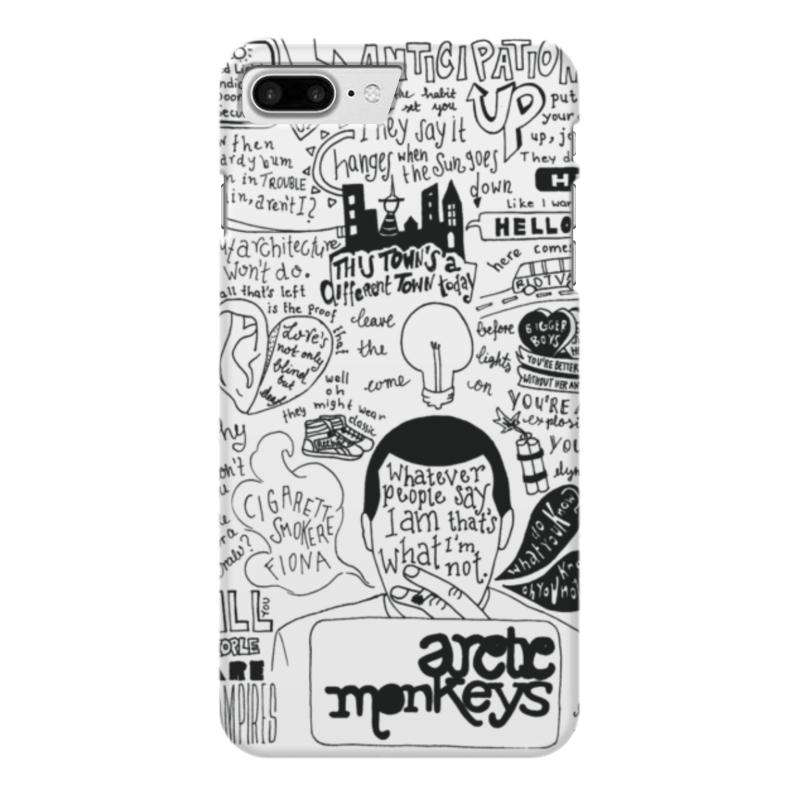 Чехол для iPhone 7 Plus глянцевый Printio Arctic monkeys чехол для iphone 7 глянцевый printio альтрон мстители