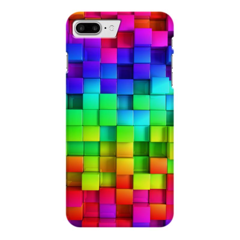 Чехол для iPhone 7 Plus глянцевый Printio Яркие краски