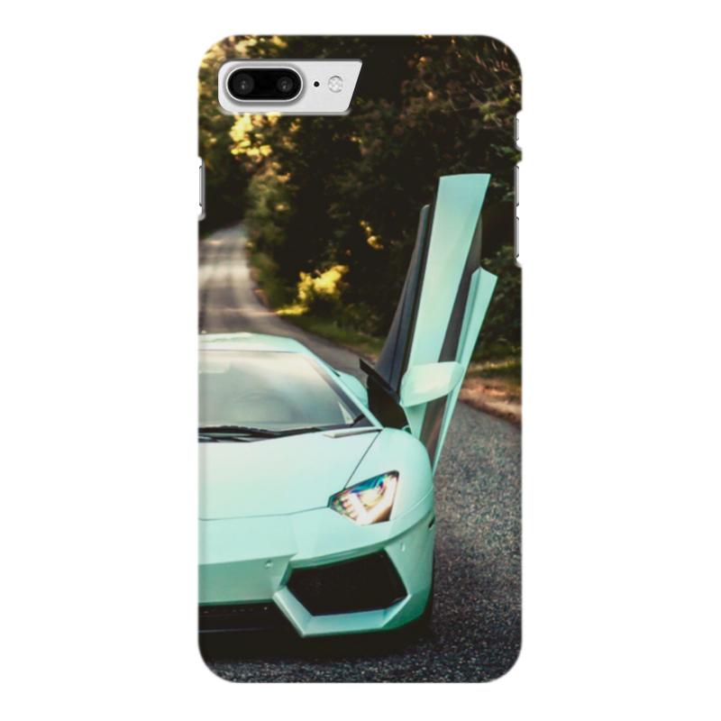 Чехол для iPhone 7 Plus глянцевый Printio Lamborghini