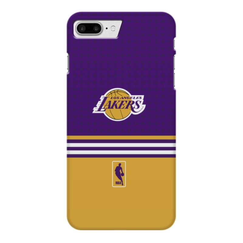 Чехол для iPhone 7 Plus глянцевый Printio Lakers case pro баскетбольную форму lakers