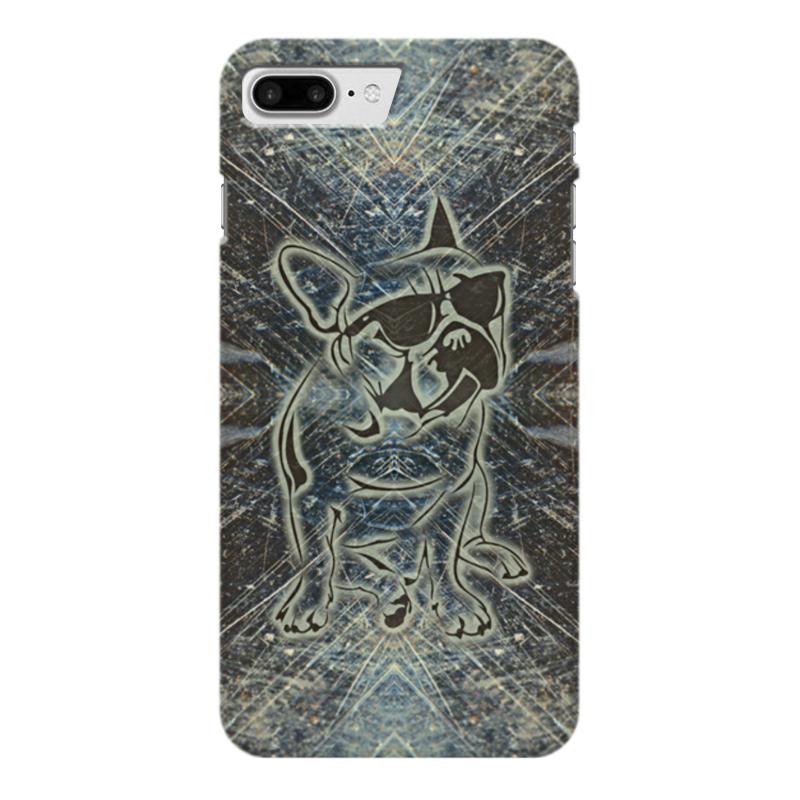 Чехол для iPhone 7 Plus глянцевый Printio Doggy