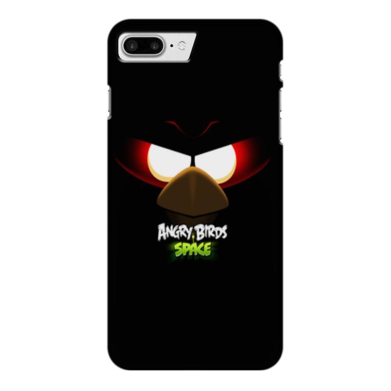 Чехол для iPhone 7 Plus глянцевый Printio Space (angry birds) чехол для iphone 6 глянцевый printio birds