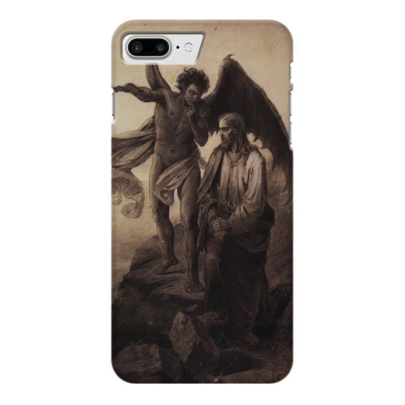 Чехол для iPhone 7 Plus глянцевый Printio Искушение христа (василий суриков) рюкзак с полной запечаткой printio искушение христа василий суриков