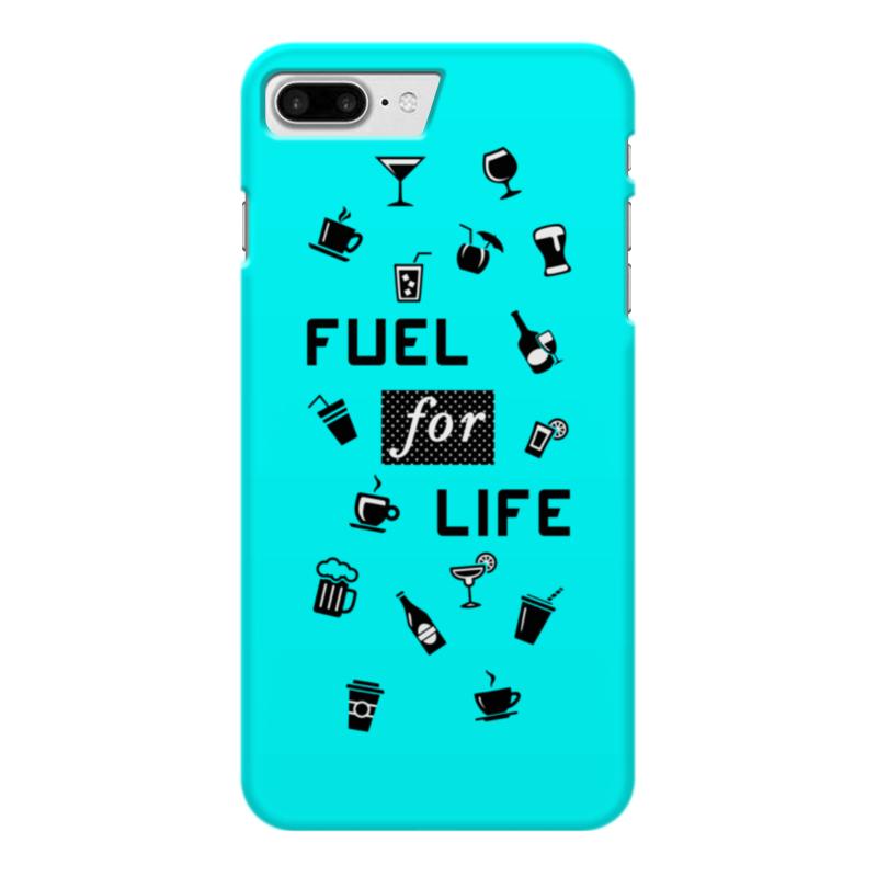 Чехол для iPhone 7 Plus глянцевый Printio Fuel for life