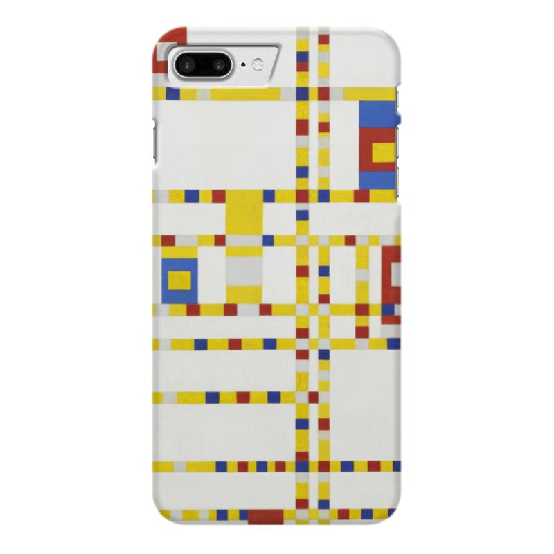 Чехол для iPhone 7 Plus глянцевый Printio Бродвей буги-вуги (питер мондриан) чехол для карточек пит мондриан дк2017 110