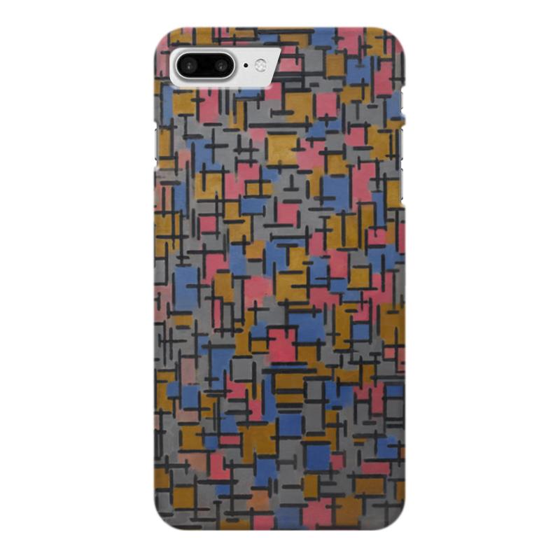 Чехол для iPhone 7 Plus глянцевый Printio Композиция (питер мондриан) чехол для карточек пит мондриан дк2017 110