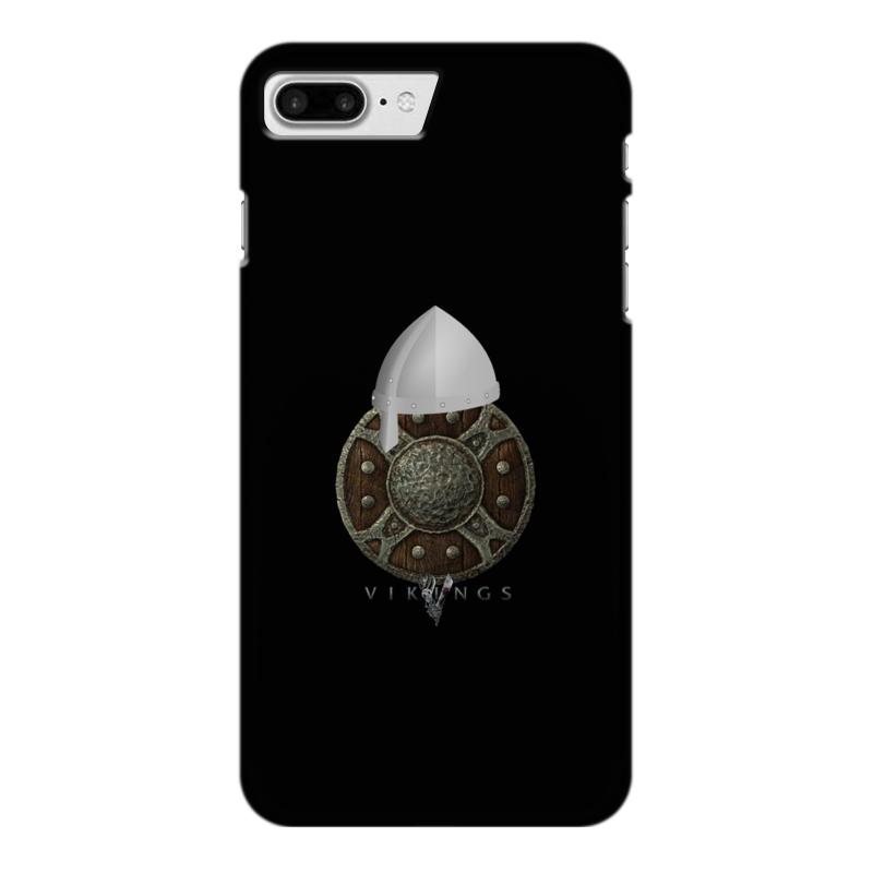 Чехол для iPhone 7 Plus глянцевый Printio Викинги. vikings