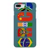 "Чехол для iPhone 7 Plus глянцевый ""BRICS - БРИКС"" - россия, китай, индия, бразилия, юар"
