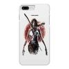 "Чехол для iPhone 7 Plus глянцевый ""Лара Крофт"" - девушка, tomb raider, лара крофт, расхитительница гробниц, томб райдер"