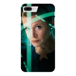 "Чехол для iPhone 7 Plus глянцевый ""Звездные войны - Лея"" - star wars, звездные войны, фантастика, кино, дарт вейдер"