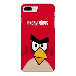 "Чехол для iPhone 7 Plus глянцевый ""Angry Birds (Terence)"" - terence, птички, angry birds, мультфильм, компьютерная игра"