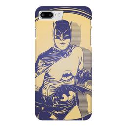 "Чехол для iPhone 7 Plus глянцевый ""Бэтмен"" - comics, комиксы, batman, dc comics"